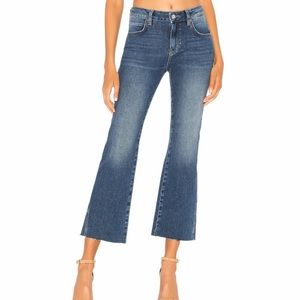 Free People Rita Cropped Flare Jeans